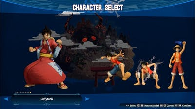 All Characters & Model One Piece: Pirate Warriors 4 Gameplay
