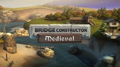 Bridge Constructor Medieval Gameplay