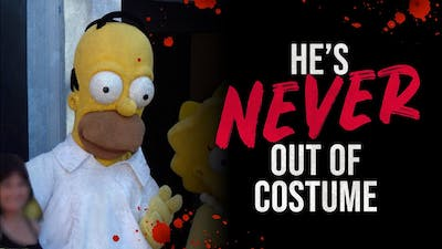 """""""He's Never Out of Costume"""" - Universal Studios Simpsons Creepypasta"""