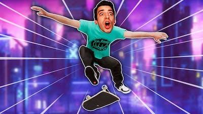 SKATEBOARDING IN A CYBER CITY?! (Skater XL)