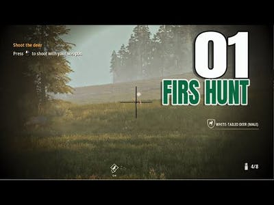 Hunting Simulator 2 Gameplay PC - Part 1- My First Hunt