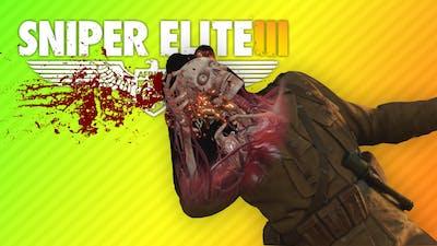 SHOOTING SCARY SKELETONS | Sniper Elite 3