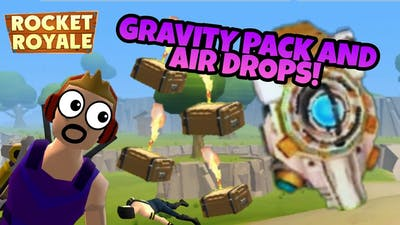 Rocket Royale - AIR DROP And GRAVITY ZONE EVENT + 100th WIN
