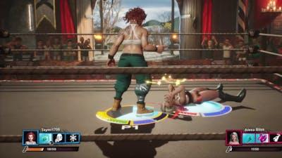 WWE 2K Battlegrounds-JESSICA JOHNSON VS ALEXA BLISS