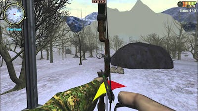 New record: Bow Accuracy 87%!! HUNTING UNLIMITED 2011: How do I use compound bow (3/3)
