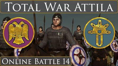 Total War Attila : Online Battle 14 East Rome vs Ostrogoths