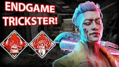 DBD Endgame TRICKSTER Is INSANE!   Dead By Daylight New Killer AllKill