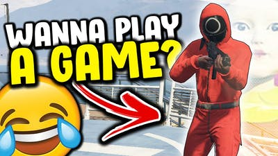 GTA 5 Mods - Squid Game FORCING Games on Gang Server (GTA 5 RP)