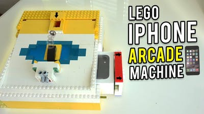 LEGO iPhone Arcade Game Machine