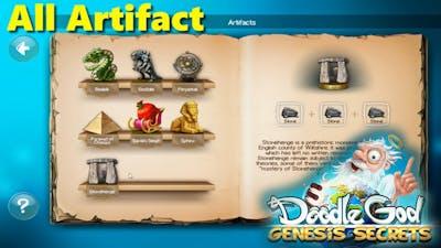 Doddle God Genesis Secrets [All Artifact]