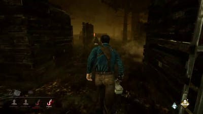 Good Dead by daylight match as Ash Williams from ash vs evil along with ma boi jacob