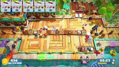 Overcooked 2 Surf n Turf Level 3-1