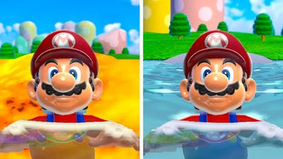 Floody World VS Lava World in Super Mario 3D World + Bowsers Fury