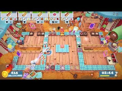 Overcooked! 2 Carnival of Chaos 3-4 | 1 Player (1228 pts)