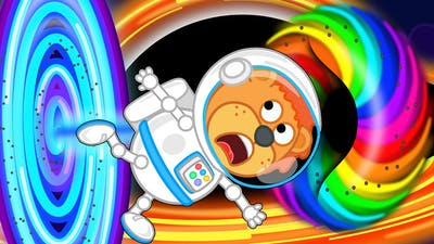 Lion Family Official Channel 🚀 Space Adventures #8. BLACK HOLE & Supernova | Cartoon for Kids