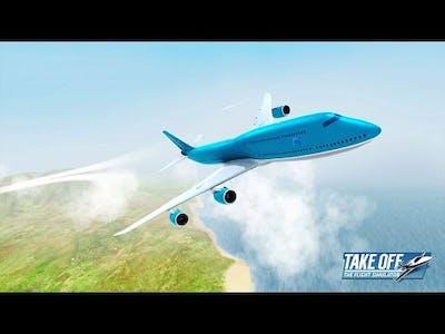 Take Off – The Flight Simulator BOOM