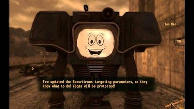 Fallout New Vegas - Taking over Vegas ending HD