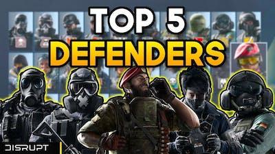 The BEST DEFENDERS in 2020 | Rainbow Six Siege