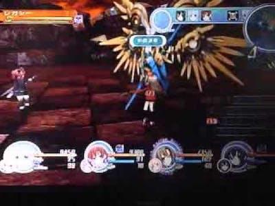Chou jigen game Neptune MK II Strongest DLC boss fight (Legacy)