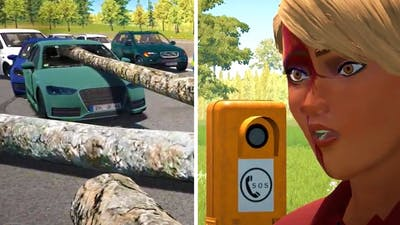 Autobahn Police Simulator 2 - Part 20 - Logging Truck Accident