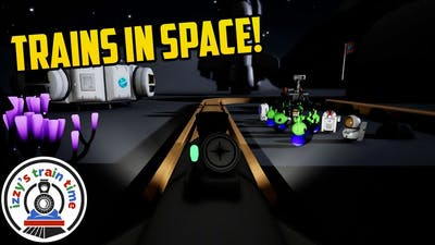 SPACE TRAINS! Tracks The Train Set Game SPACE UPDATE