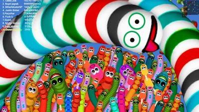 Worms Zone a Slither Snake Kill All Game for earthworms Rắn Săn Mồi Game Top 1 kich Tính Và vui