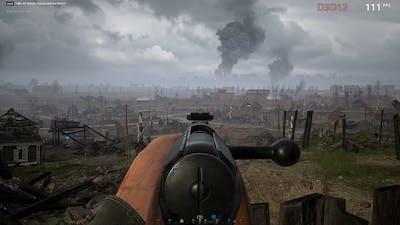 Hell Let Loose Mosin Nagant on Stalingrad