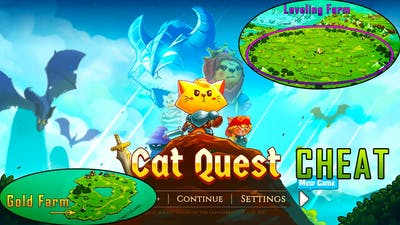 Cat Quest Farming Gold and Level plus Cheats