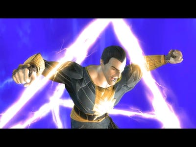 Injustice Gods Among Us All Super Moves on Black Adam Ultimate Edition PC