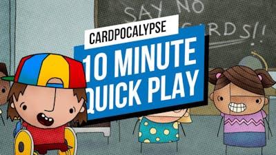 Cardpocalypse - 10 Minute Quickplay on the Nintendo Switch