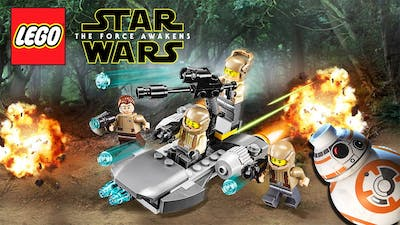 LEGO Star Wars: The Force Awakens Gameplay Trailer Preview #1