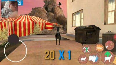 Goat simulator (GoatZ DLC)