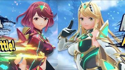 BOTH PYRA AND MYTHRA JOIN SMASH!? (Dual Character?)    Smash DLC Reveal