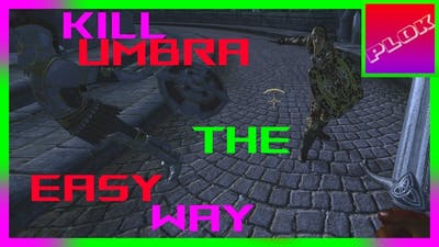 """How to Find and Kill Umbra the """"EASY"""" Way!!! - TES IV Oblivion"""