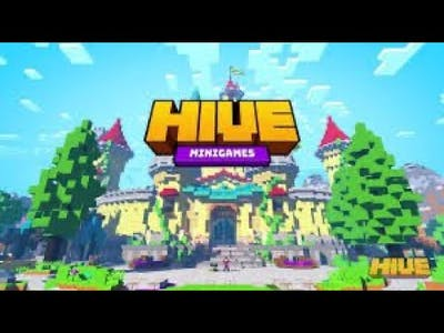 Playing in THE HIVE ON MINECRAFT EP.1