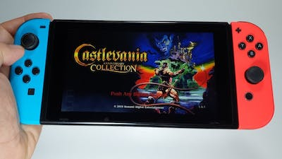 Castlevania Anniversary Collection Nintendo Switch gameplay | testing all games
