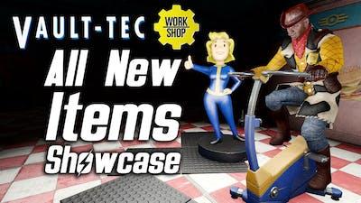 Fallout 4 Vault-Tec DLC - All New Items Showcase