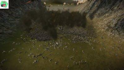 Shogun 2: 3,200 Fire Rockets vs 12,560 Samurai [WE DIDN'T START THE FIRE] |SAMURAI MASSACRE!|