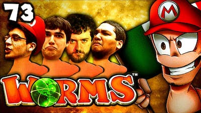 The Worst Game of Worms...Ever (Worms Clan Wars: The Derp Crew - Part 73)