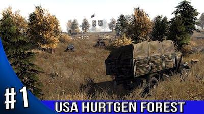 Men of War Assault Squad 2 - USA Campaign Walkthrough - Hurtgen Forest 1/3