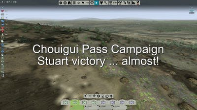 Tank Warfare: Tunisia 1943 - Chouigui Pass - Stuart, almost win!