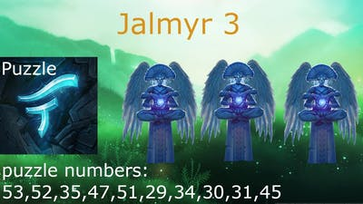 Want to know how to solve Jalmyr 3 puzzles ? |faeria|