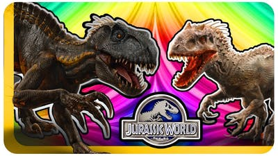 INDORAPTOR VS INDOMINUS REX - Jurassic World Evolution - Who Would Win?