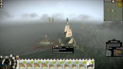 Total War: Shogun 2 - Naval Battle with captured Black Ship (slaughter!)