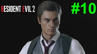 Resident Evil 2 Remake/Biohazard RE2 - [Walkthrough Part 10 - Noir Leon] [Mr. X kill Ben Bertolucci]