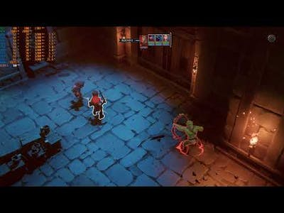 The Dungeon Of Naheulbeuk: The Amulet Of Chaos AMD RX580 Gameplay