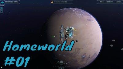 Homeworld Remastered Walkthrough Mission 1 - Kharak System
