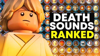 All LEGO Star Wars Death Sounds Ranked