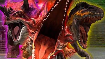 ALL 3 SUPER-HYBRIDS VS HYBRID SHOWDOWN!! - Jurassic World - The Game | Ep. 304