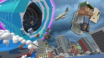 BLACK HOLE & ALIEN INVASION DESTROY THE CITY! - Tiny Town VR Gameplay - Oculus VR Game